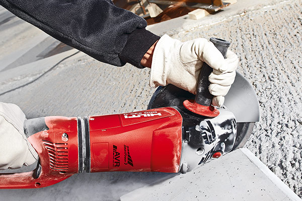 Hilti - Grinder with Active Vibration Reduction - EPTA Member
